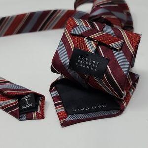 """Robert Talbott Carmel Multicolor Striped Tie 58"""""""